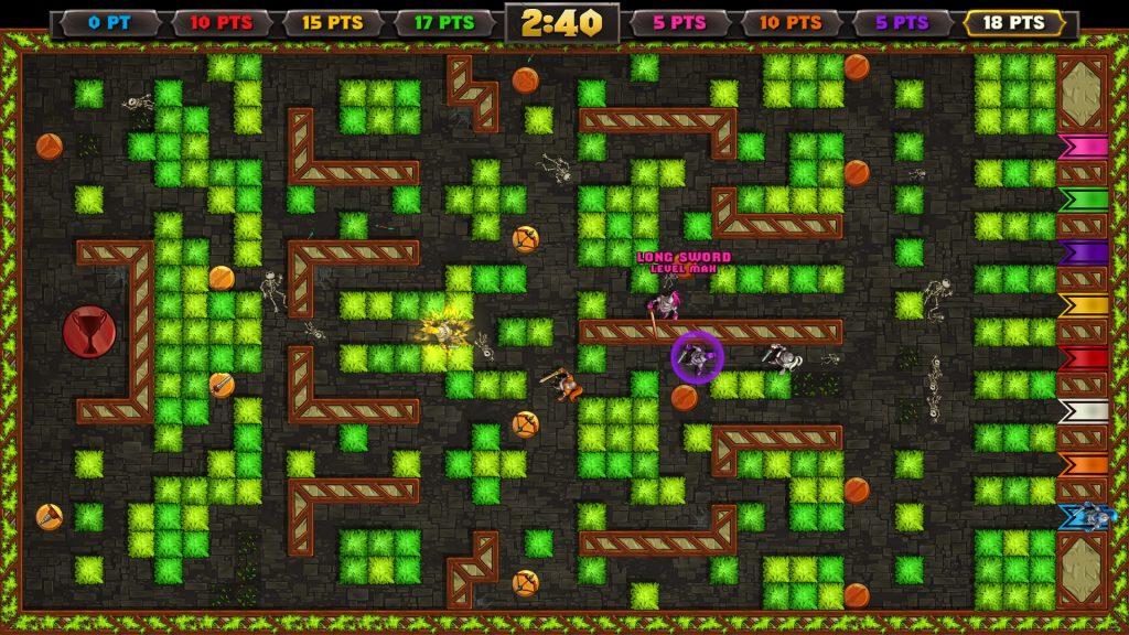 Le mélange Bomberman - Gauntlet