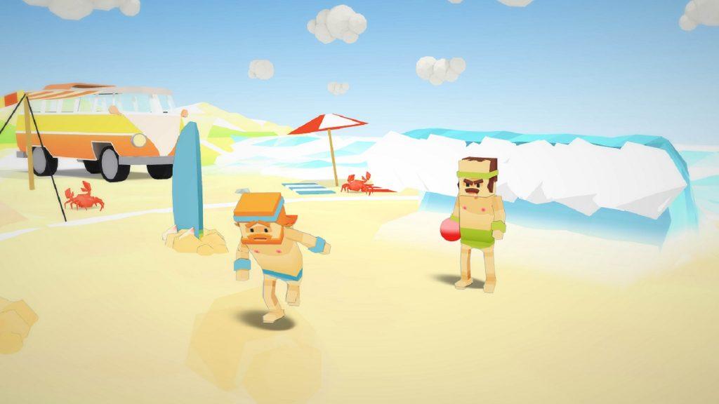 Attention !!! Une vague déferle sur la plage