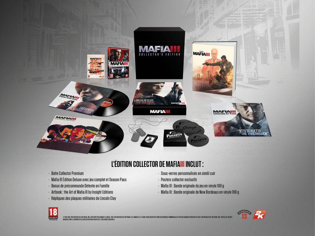 MAFIA III Edition Collector