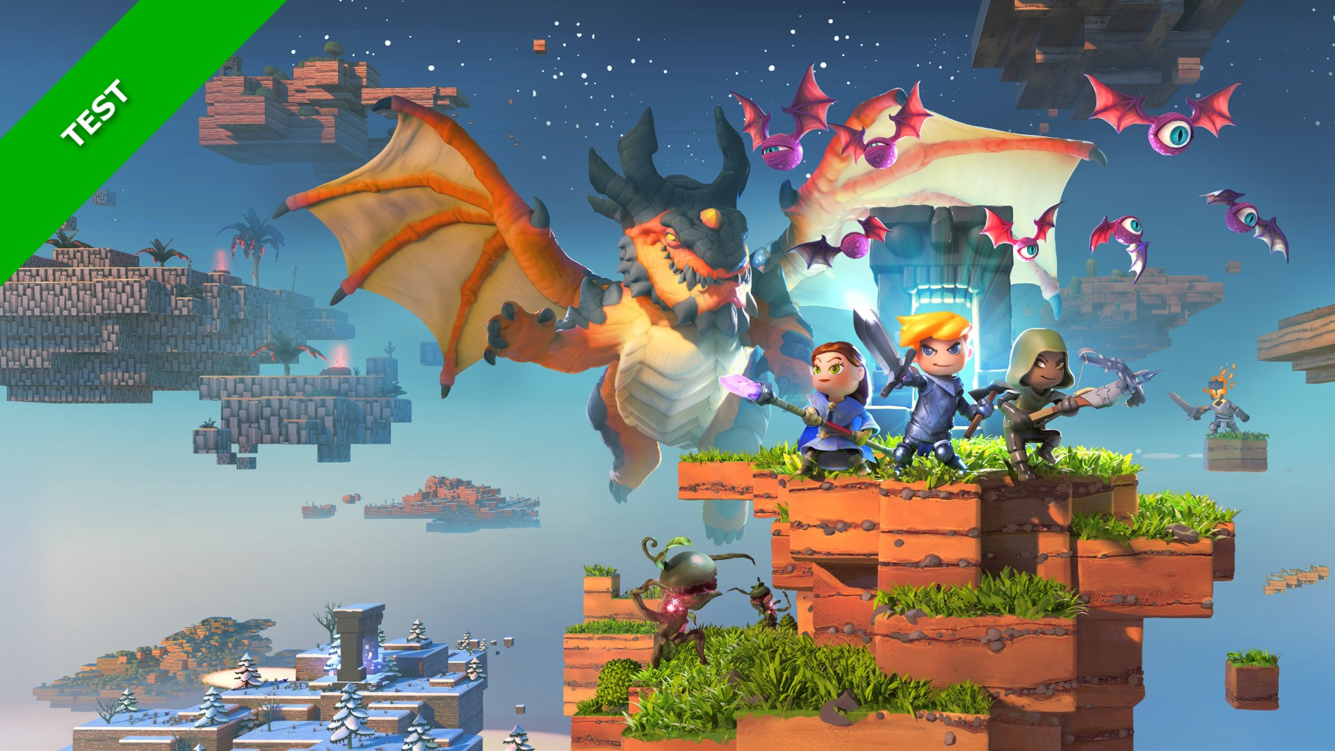 Portal Knights test xbox-world.fr