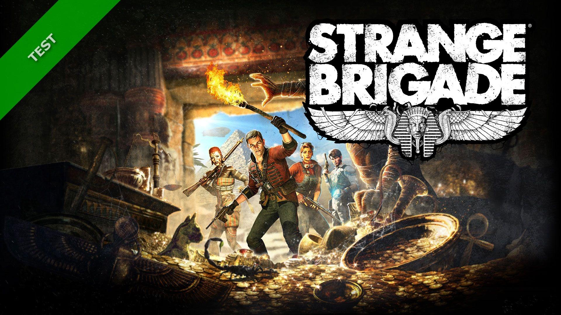 TEST STRANGE BRIGADE XWFR