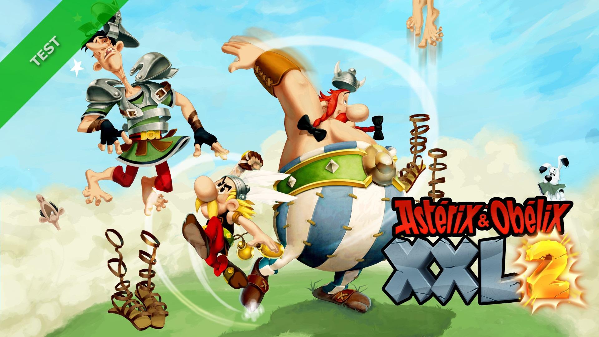 TEST Asterix & Obelix XXL2 XWFR