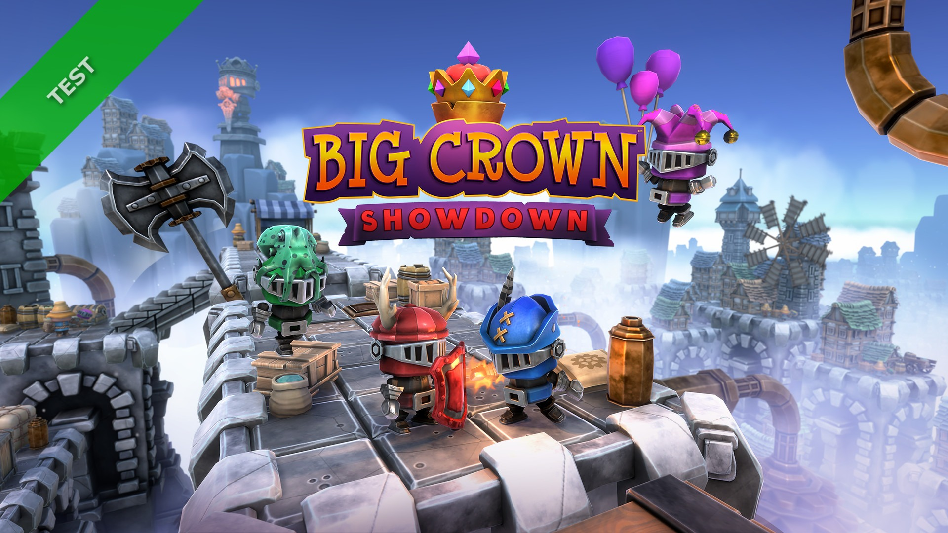 TEST Big Crown Showdown XWFR