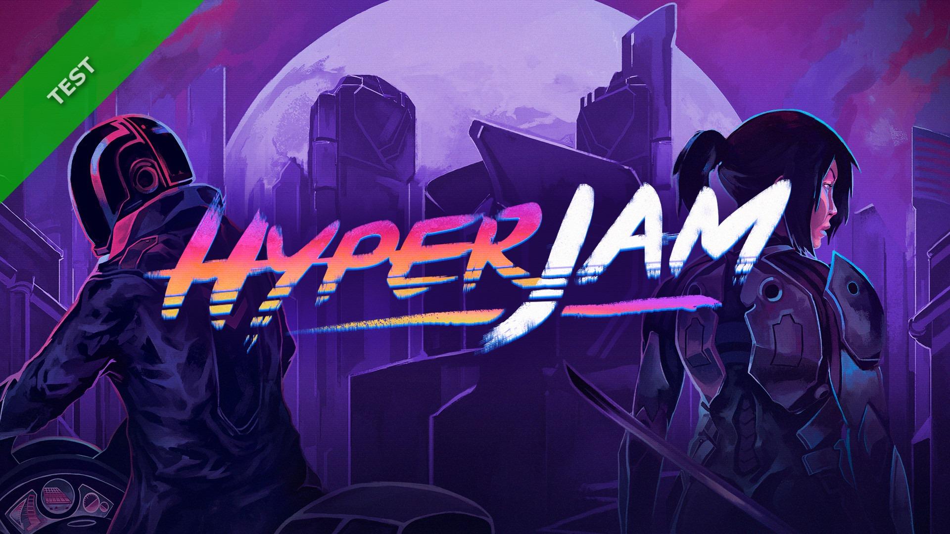 TEST Hyper Jam XWFR