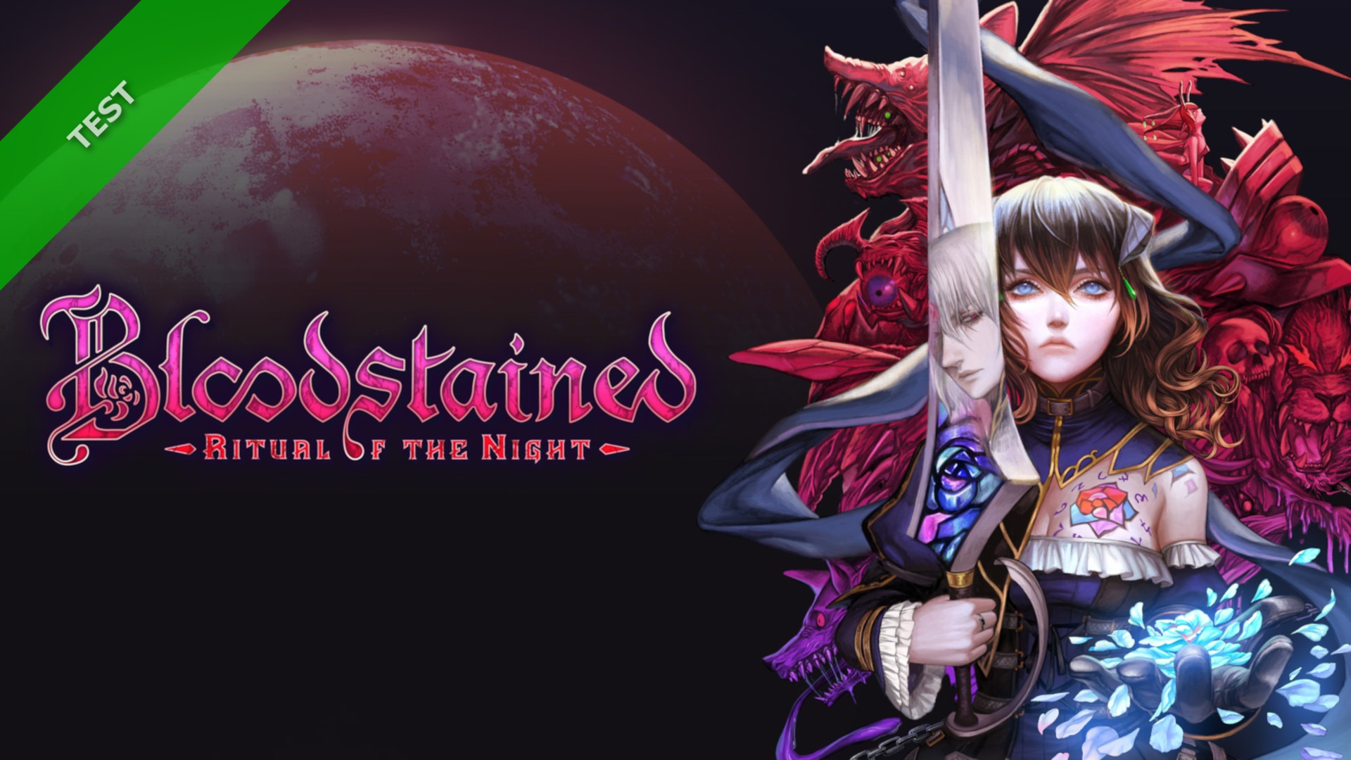 TEST Bloodstained Ritual of the Night XWFR