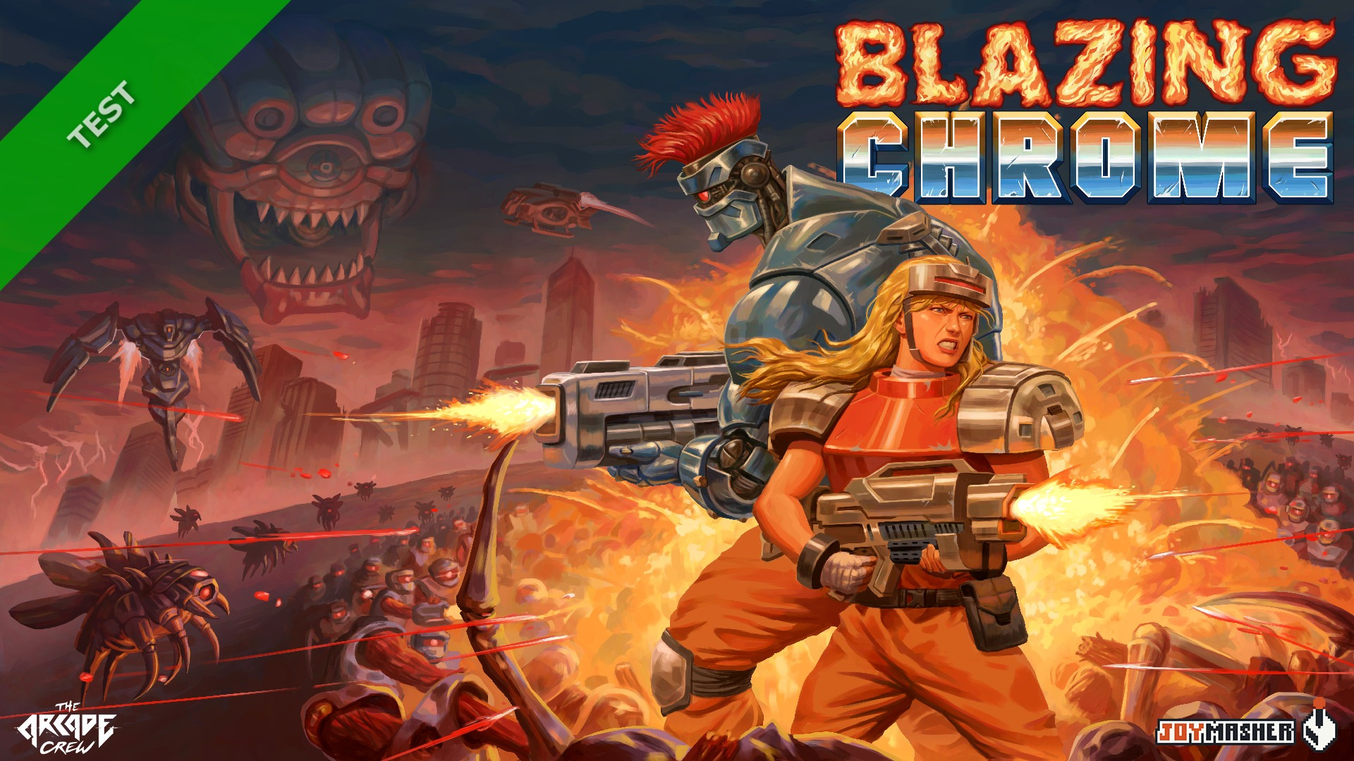 TEST Blazing Chrome XWFR