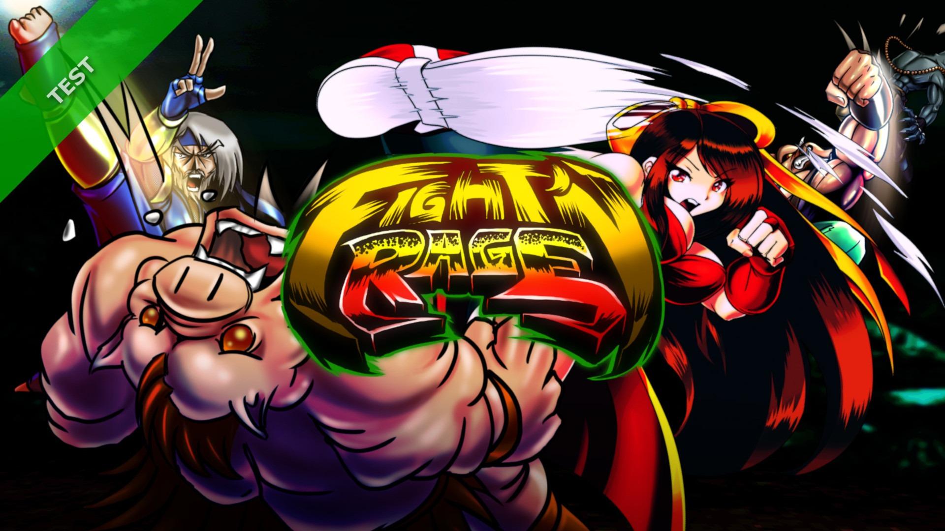 TEST Fight'n Rage XWFR
