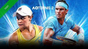 TEST AO Tennis 2 XWFR