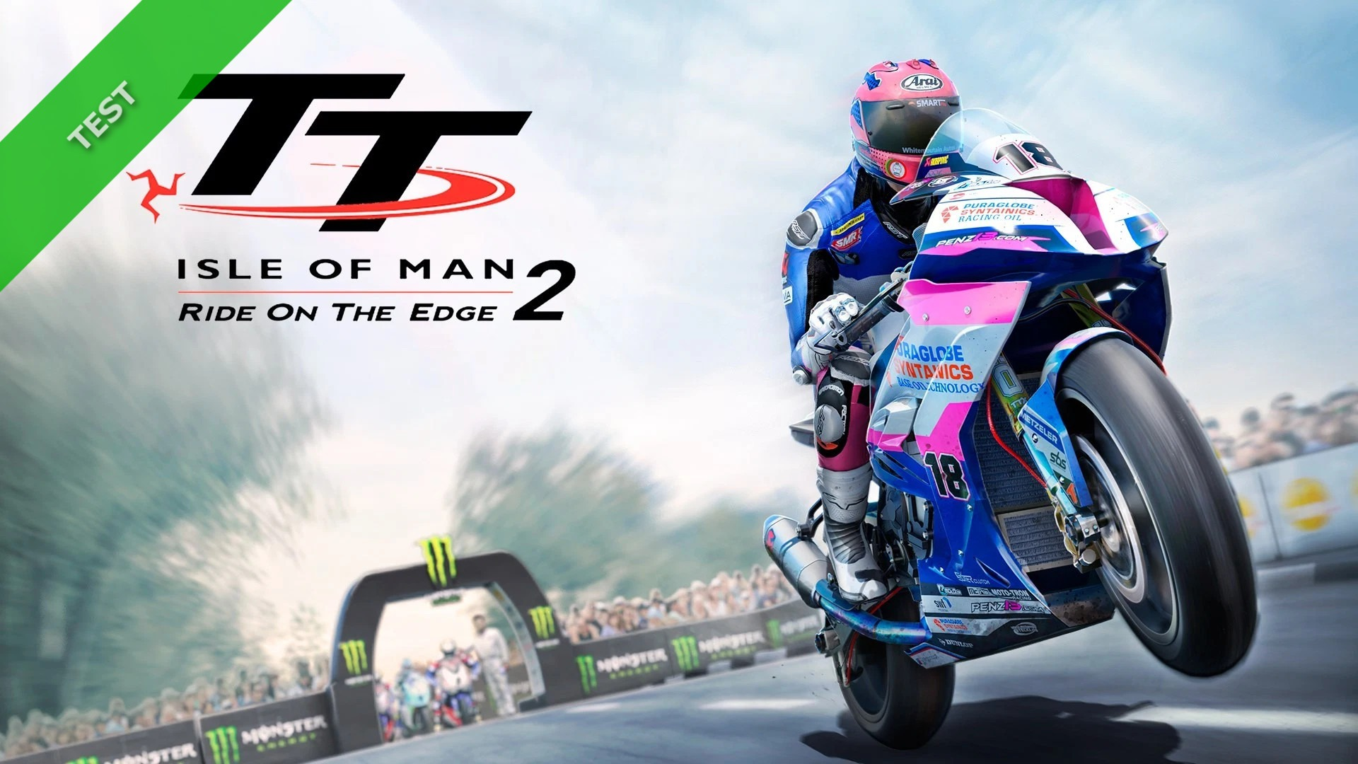 TEST TT Isle of Man 2 XWFR