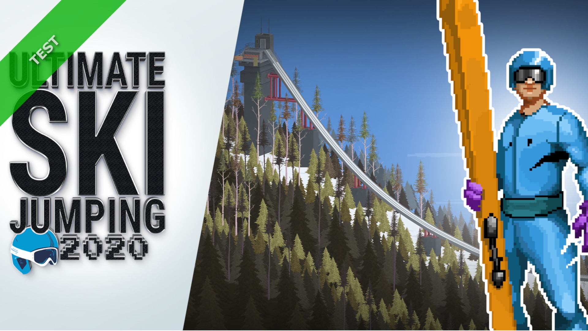 TEST Ultimate Ski Jumping 2020 XWFR