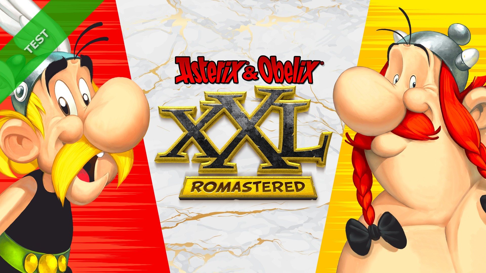 TEST Asterix & Obelix XXL Romastered XWFR