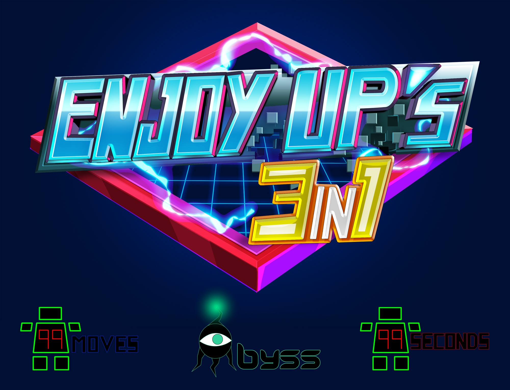 pochette compilation enjoyup 3in1