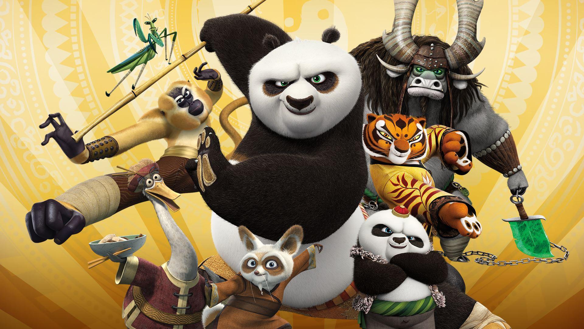 Kung fu panda le choc des l gendes fait son arriv e sur - Maitre kung fu panda ...