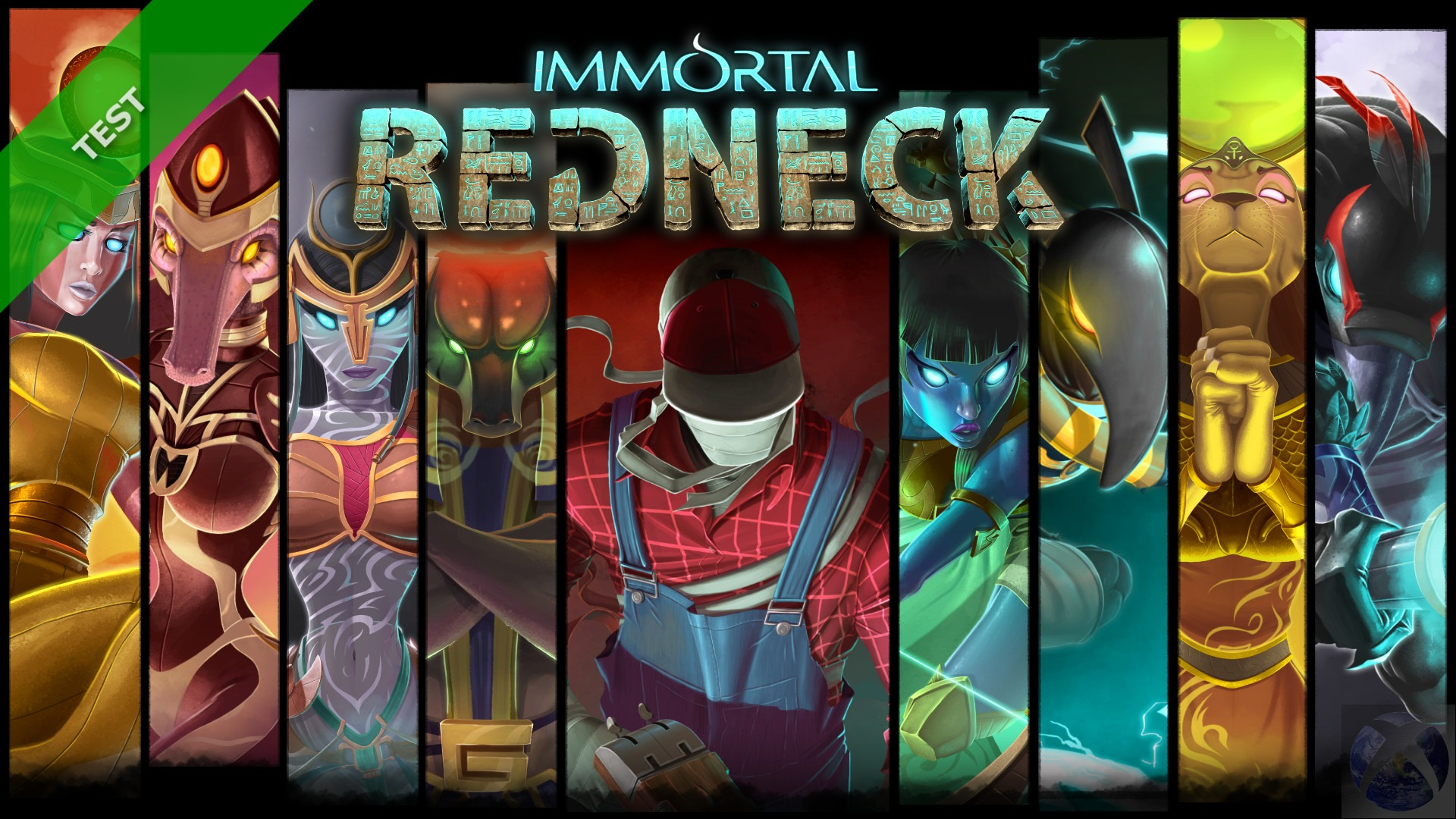 TEST -Immortal Redneck -XWFR