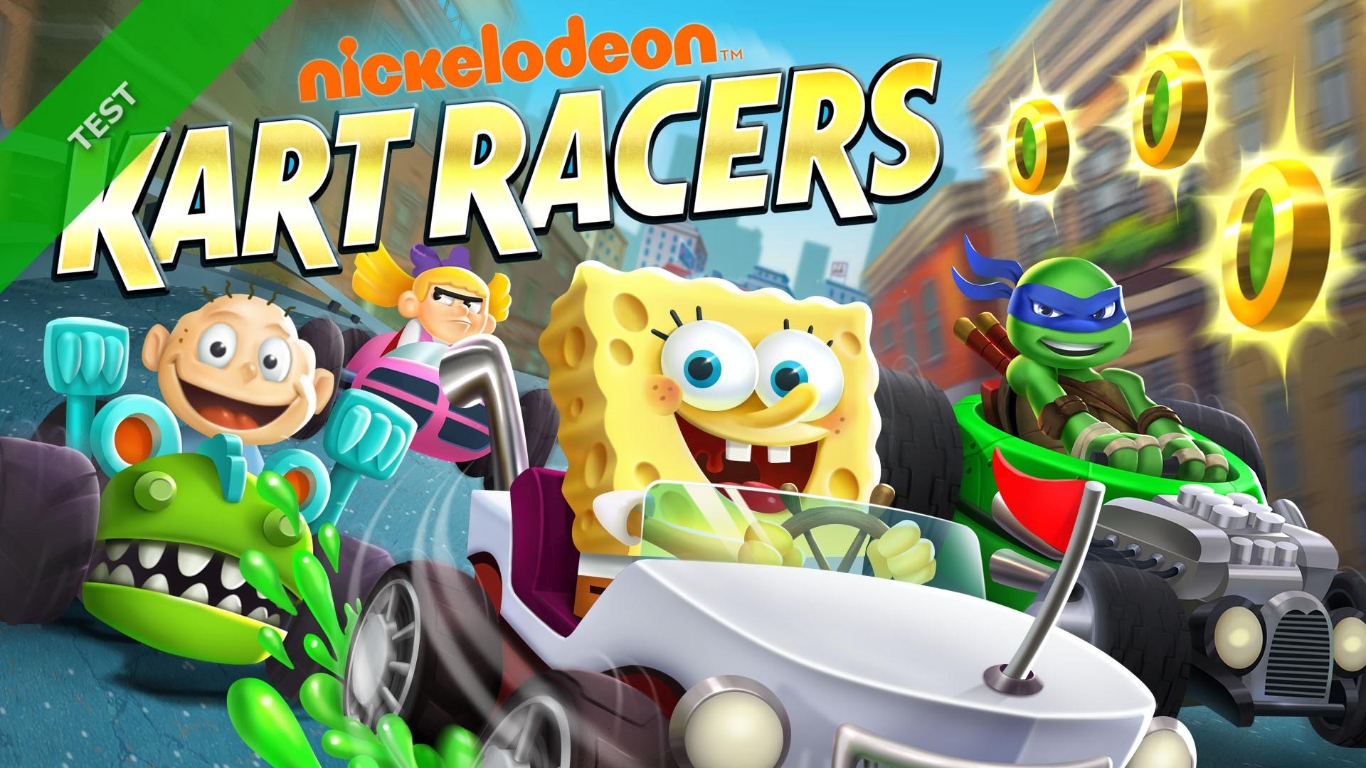 TEST Nickelodeon Kart Racers XWFR
