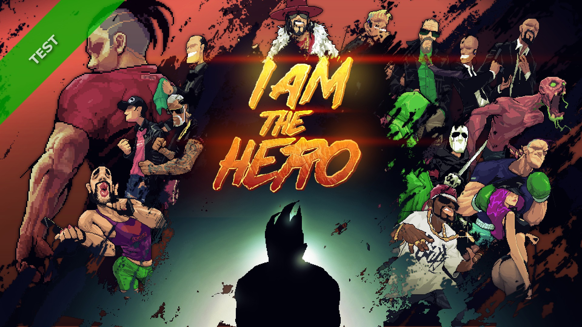 TEST I Am The Hero XWFR