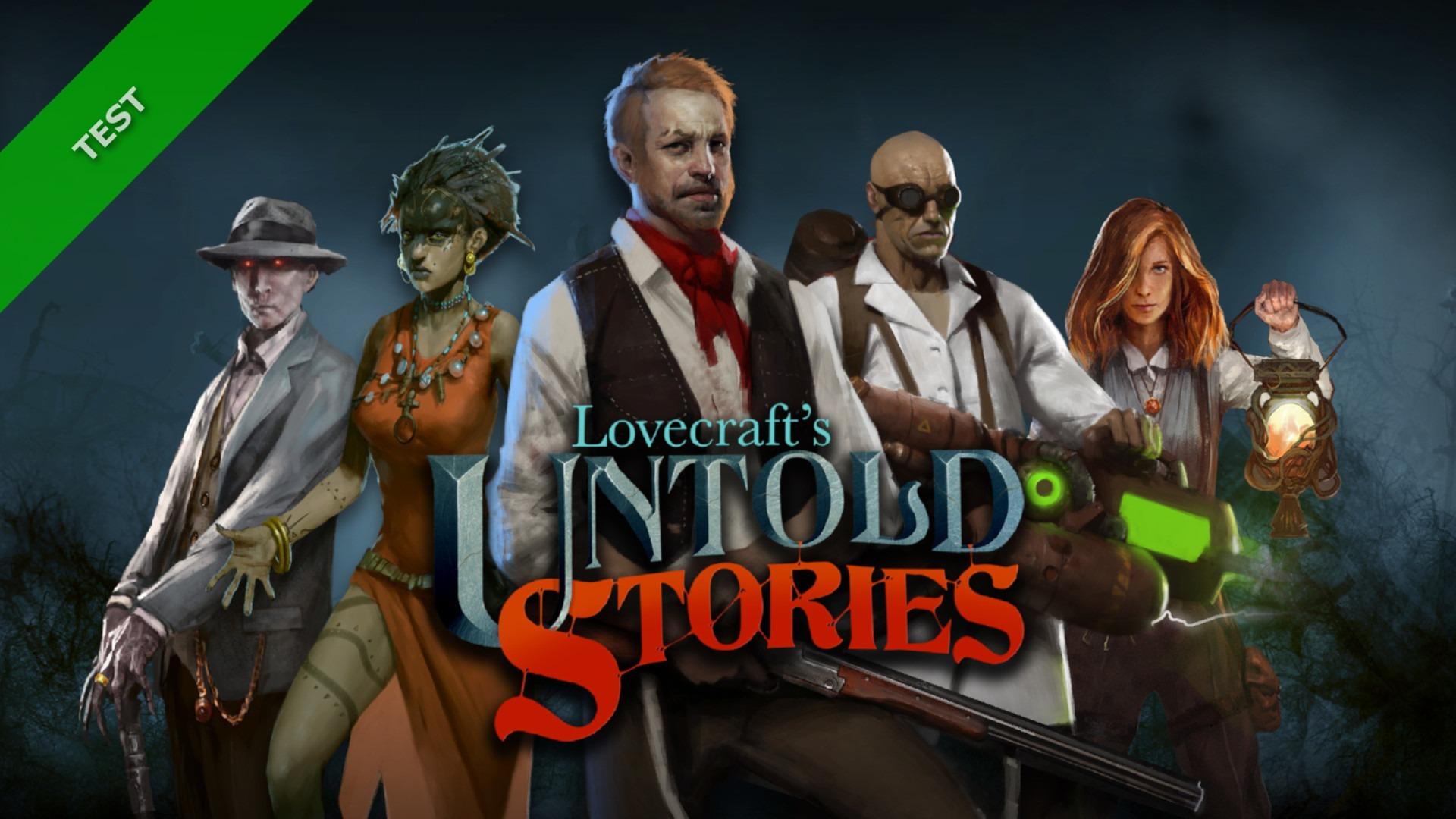 TEST Lovecraft's Untold Stories XWFR