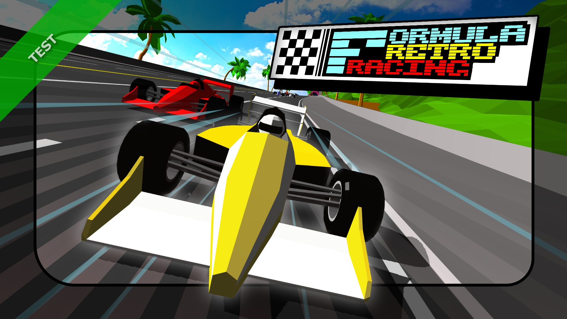 TEST Fomula Retro Racing XWFR